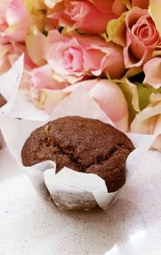 Suklaamuffinssit maapähkinävoisydämellä (gluteeniton, maidoton, sokeriton, vegaani) | Terveelliset herkut
