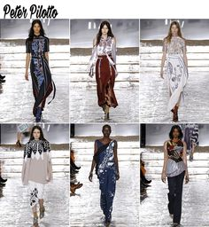 londres fashion week os desfiles que mais gostei blog da mariah peter pilotto