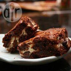 Photo de recette : Brownies gâteau au fromage
