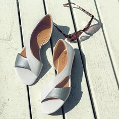 lovely white sandals