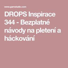 DROPS Inspirace 344 - Bezplatné návody na pletení a háckování