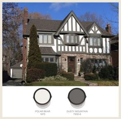 See the BEHR paint colors which most often are used on traditional Tudor-style homes in our gallery on Colorfully BEHR.