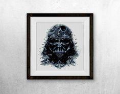BOGO FREE Darth Vader Star Wars Cross Stitch Pattern por StitchLine