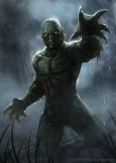 Creature from the black lagoon by ogilvie.deviantart.com on @deviantART