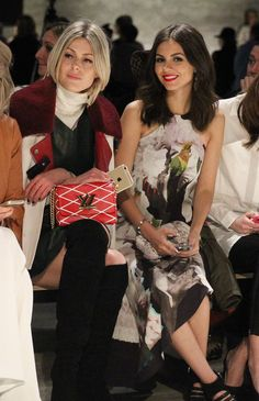 Victoria Justice Photos: TRESemme at Rebecca Minkoff Mercedes-Benz Fashion Week Fall 2015 - Backstage/Front Row