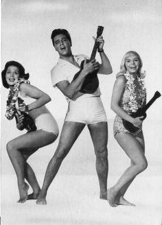 Elvis Presley and the Ukulele girls
