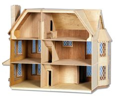 Dollhouse Kits, Wooden Dollhouse, Dollhouse Dolls, Dollhouse Furniture, Dollhouse Miniatures, Girls Dollhouse, Doll Furniture, Woodworking Projects That Sell, Woodworking Plans