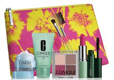 Clinique Makeup Kit 7 pc Pink