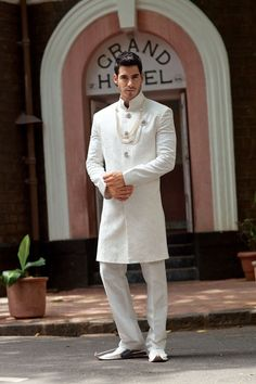 SHERWANI - BenzerWorld. Indian groom.