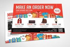 Product Postcard by AfzaalGraphics on Creative Market