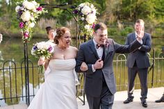 Maryland Zoo Wedding — East Made Event Company and Meghan Rose Photography. Purple ceremony backdrop