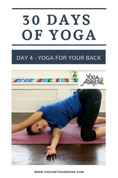 Yoga for your back! Stretch and strengthen your back with the power of the breath! Use this practice to awaken the spine and meet your edge. 30 Day Ab Workout, 30 Day Workout Challenge, Cardio Workouts, Boxing Workout, Pilates For Beginners, Yoga Poses For Beginners, Beginner Pilates, Yoga Shoulder, Free Yoga Videos