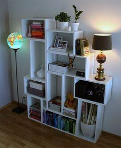diy modern shelves