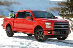 Ford's aluminum won the North American Truck of the Year award at the Detroit auto show on Monday. The independent jury includes 57 U. and Canadian auto writers and editors. F150 Truck, Ford Trucks, Pickup Trucks, Nissan Trucks, Jeep Wrangler Unlimited, Ford F150 2015, Ford Motor Company, Toyota Camry, Pick Up