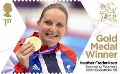 Heather Fredericksen: Swimming #SpecialStamp from 2012 #Paralympics
