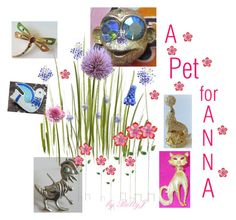 A Pet for Anna by betty-powell on Polyvore featuring Improvements and vintage