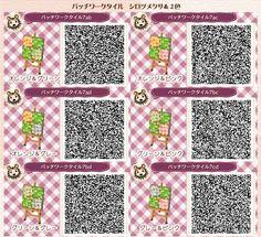 New Leaf QR Paths Only (pocky-town: (✿╹◡╹)ノ☆.。₀:*゚ source ★゚・:,。゚・:,。☆ ...)