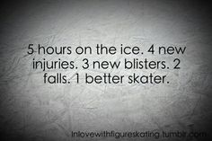 17 year old figure skater from london :) will be posting inspirational pictures about skating and my passion for the sport. Ice Skating Quotes, Figure Skating Quotes, Figure Skating Dresses, Skate 3, Skate Wear, Hockey Quotes, Sport Quotes, Ice Skaters, Ice Dance
