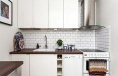 Fint litet kök på Torsgatan