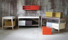 Mint furniture - from Latvia Mint Furniture, Small Furniture, Colorful Furniture, Furniture Styles, Upholstered Furniture, Bathroom Furniture, Contemporary Furniture, Furniture Design, Sewing Table