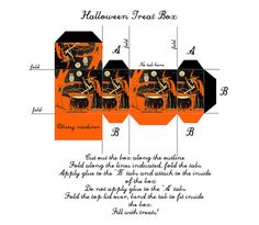 dollhouse miniature printables | Recent Photos The Commons Getty Collection Galleries World Map App ... Halloween Treat Boxes, Halloween Gifts, Holidays Halloween, Vintage Halloween, Halloween Candy, Halloween Ideas, Halloween Decorations, Haunted Dollhouse, Dollhouse Miniatures