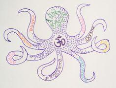 patanjali sutras 8 limbs yoga octopus