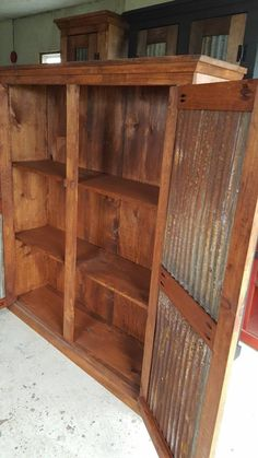 Trendy Ideas for farmhouse cabinets hutch French Country Furniture, Farmhouse Living Room Furniture, Pine Furniture, Primitive Furniture, Recycled Furniture, Rustic Furniture, Primitive Bedroom, Lounge Furniture, Furniture Storage