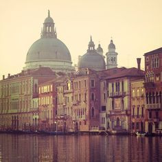 25 % OFF Venice Photograph, Italy, Grand Canal, Morning, Sunrise,... ($23) ❤ liked on Polyvore
