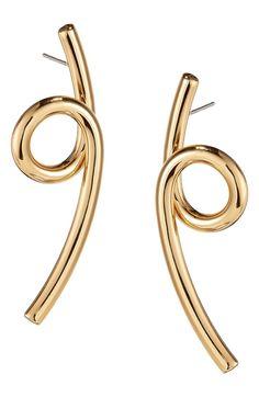See the Women's Jenny Bird Coil Earrings. Beaded Earrings, Statement Earrings, Gold Earrings, Circle Earrings, Drop Earrings, Sterling Silver Earrings Studs, Silver Ring, Copper Jewelry, Bird Jewelry
