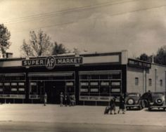 A&P Super Market in Charlotte My Kind Of Town, My Town, Living In North Carolina, Charlotte Nc, American History, Vintage Photos, Past, Restaurants, Homes
