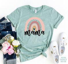 Travel Shirts, Mama Shirt, Teacher Shirts, Mom T Shirts, Best Mom, Birthday Shirts, Textiles, Shirt Designs, Stylish