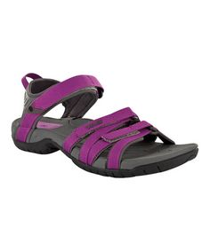 Take a look at this Purple Tirra Sandal by Teva on #zulily today!