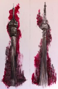 Two new towers - a matched pair which will be up during the week. Towers, South Africa, African, Tours, Tower