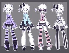 Outfit adopts: PASTEL BABES CLOSED by Lunadopt.deviantart.com on @DeviantArt