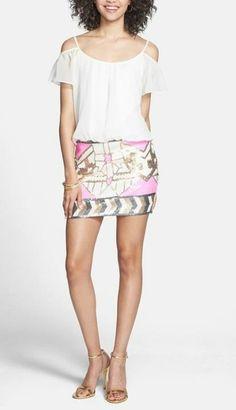 Super cute sequin mini dress!