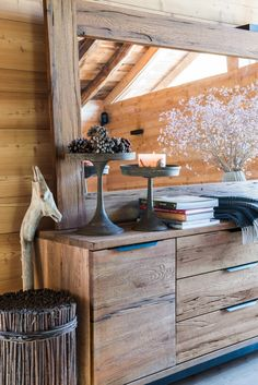 Holz zieht ein... Facon, Decoration, Entryway Tables, Inspiration, Comme, Furniture, Chic, Home Decor, Wood