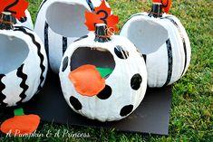 DIY Pumpkin Toss Game