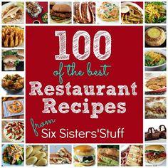 Top 100 Restaurant Copycat Recipes