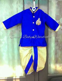 Mom And Son Outfits, Baby Boy Outfits, Kids Outfits, Kids Indian Wear, Kids Ethnic Wear, Boys Party Wear, Boys Wear, Baby Boy Suit, Baby Boy Dress