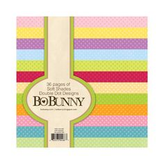 Bo Bunny Press - Double Dot Designs Collection - 6 x 6 Paper Pad - Soft Shades at Scrapbook.com $5.99