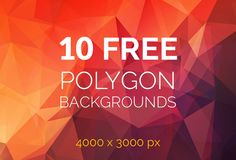 Free Polygon Backgrounds   http://www.boundlessfreebies.com/2014/09/free-polygon-backgrounds.html