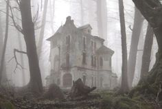 Eerily creepy lonely abandoned house in an undisclosed location #abandonment #haunted #houses