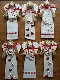 pl The post www.pl # appeared first on Beton Diy. Salt Dough Crafts, Salt Dough Ornaments, Clay Ornaments, Angel Ornaments, Christmas Clay, Christmas Makes, Christmas Angels, Christmas Ornaments, Angel Crafts