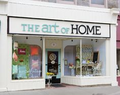 our storefront!  | The Art of Home  May 2012