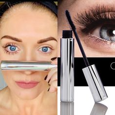 Nu Skin Mascara, Curling Mascara, Curl Lashes, Eyelashes, Colored Mascara, Long Lasting Curls, Anti Aging Skin Care, Galvanic Spa, Make Up