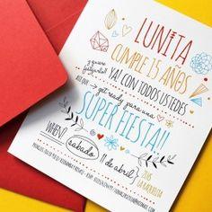 le pou - invitaciones y tarjetas - cumple 15                                                                                                                                                                                 Más