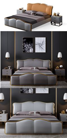 These clever ideas are all designed to maximize a storage-deprived. Luxury Bedroom Furniture, Royal Furniture, Bed Furniture, Furniture Design, Bed Headboard Design, Bedroom Bed Design, Small Bedroom Designs, Bedroom Fan, Wooden Sofa Set Designs