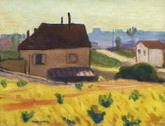 blastedheath: Albert Marquet (French, 1875-1947), Maison à...