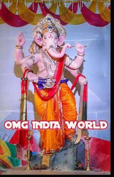 Jai Ganesh, Lord Ganesha, Disney Characters, Fictional Characters, India, Disney Princess, Art, Art Background, Goa India