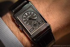One of the great re-births of the last two years has been that of the Jaeger-LeCoultre Reverso. Already considered a classic by most, the Reverso went through a slimming down back in 2011 with the creation of the Tribute to 1931, and it has taken on an entirely new life in the minds of consumers, collectors, auction houses, and the odd mega-mogul. This year at SIHH, we saw the re-launch of another classic Reverso model - the two-timezone, two-faced Duo. Read on for the full story.